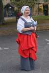 Cotswold Festival Secretary Sue Jones in English Civil War costume