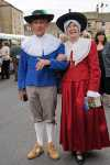 Jean & John Oxley dressed in English Civil War costume