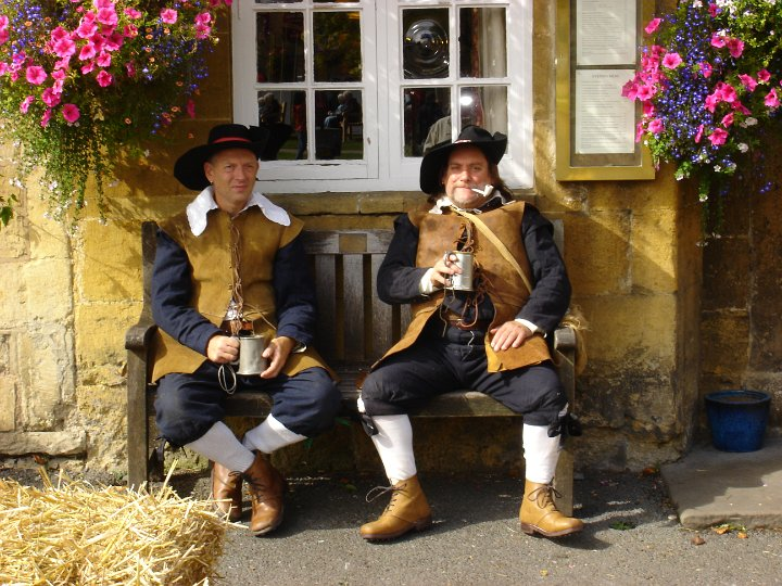 Members of The Sealed Knot at the 2011 Stow Cotswold Festival