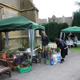 Country Fayre Stall outside St Edward's Church