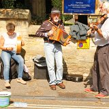 Buskers in Church Street
