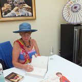 Prue Leith at the Grapevine Hotel