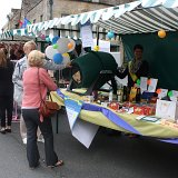 Grand Tombola stall in the town square