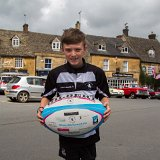 The Carry Me Home Kate rugby ball
