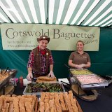 Kevin and Becky from Cotswold Baguettes ready to roll