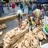 Cotswold Stone Designs hard at work showcasing their skills