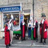 Court Leet arrive at Lambournes to test the 'flesh'